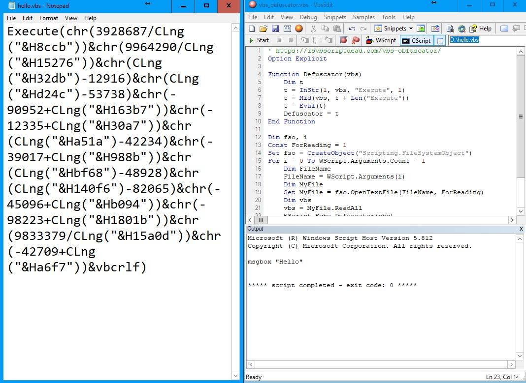cipher vbs